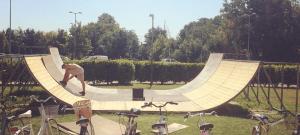 Esibizione E Scuola Di Skate E Bmx Su Rampe (novità 2017)