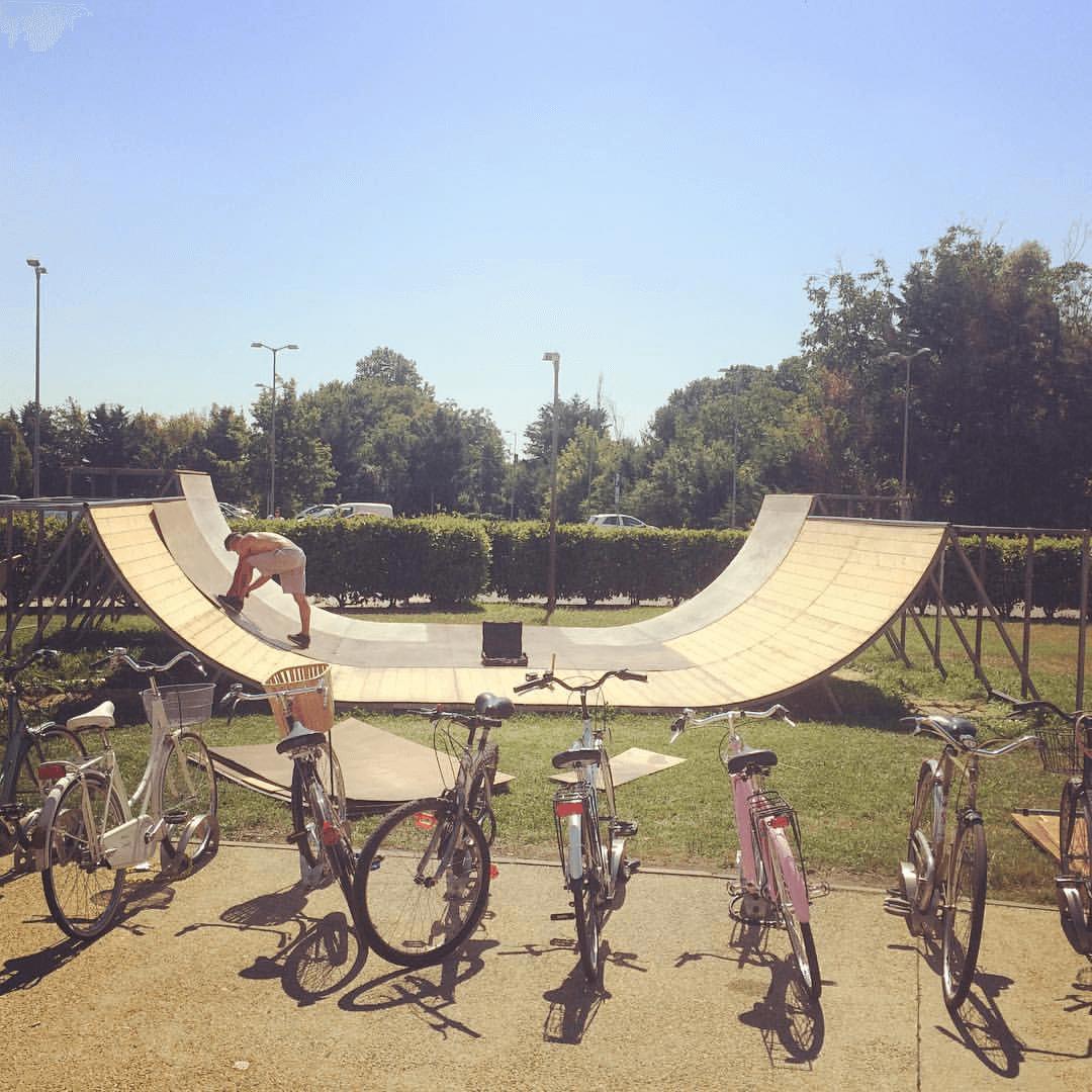 FARDAMATTI Coloriamo Cieli Skate Bmx Castiglione Del Lago